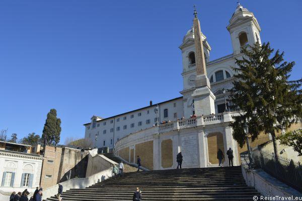 Spanische Treppe Rom by ReiseTravel.eu