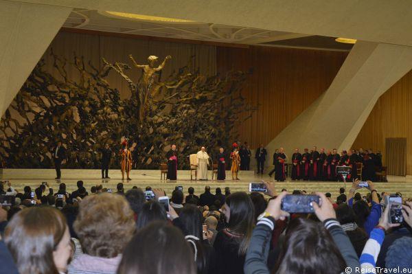 Papst Franziskus Vatikanstadt Vatikanstaat Heiliger Stuhl by ReiseTravel.eu