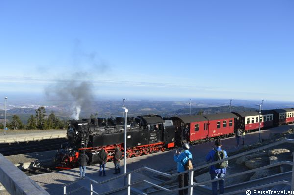 Brockenbahn zum Brocken by ReiseTravel.eu