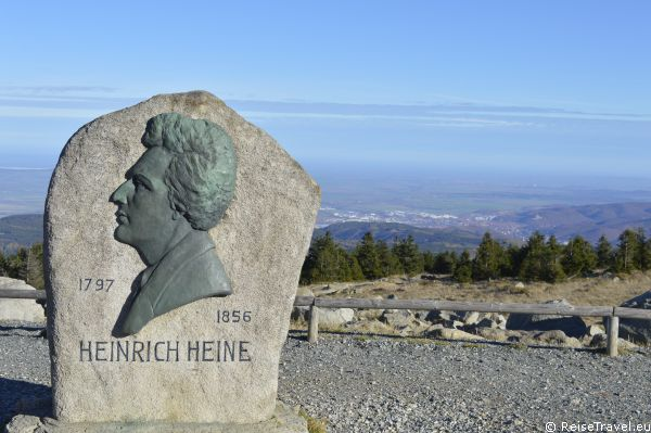 Heinrich Heine auf dem Brocken by ReiseTravel.eu
