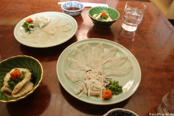 Kugelfisch Fugu Japan Rezept