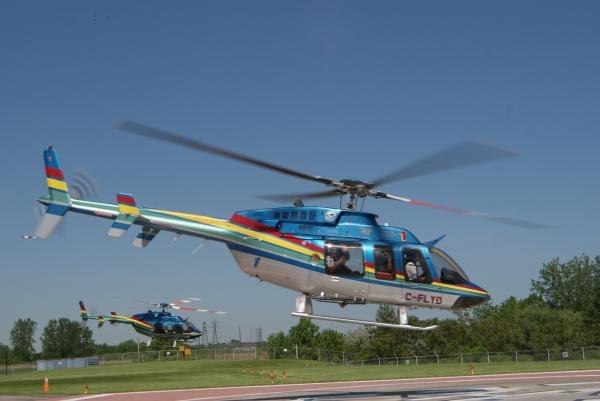 Niagara Wasserfall Helikopter